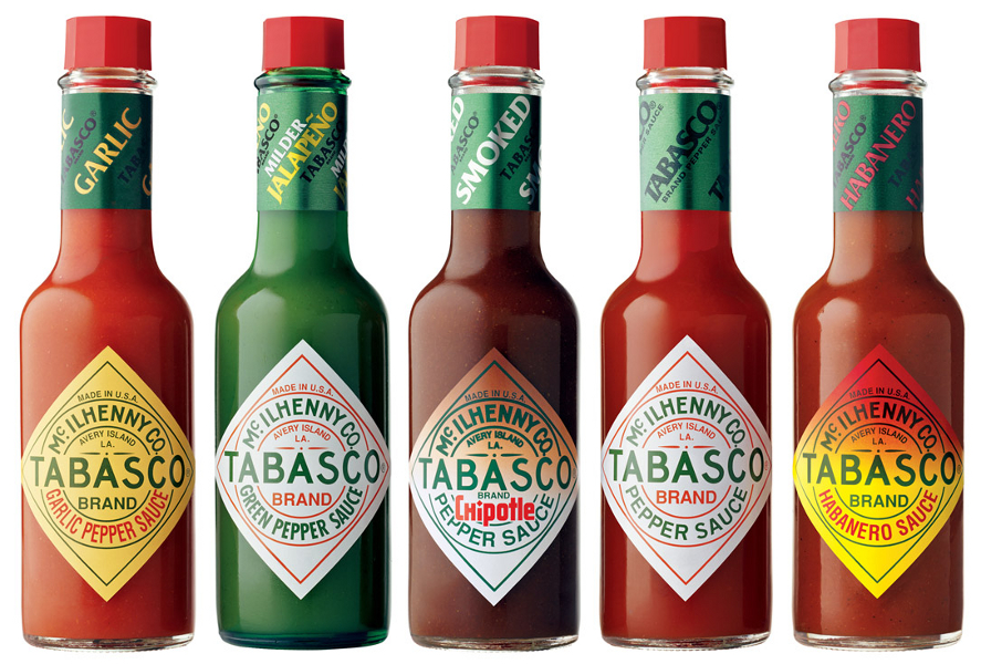 tabasco-product-range