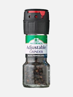 Adjustable Black Peppercorn Grinder