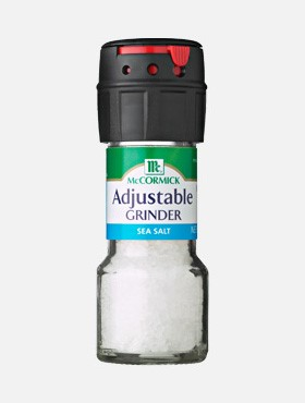 Adjustable SeaSalt Grinder